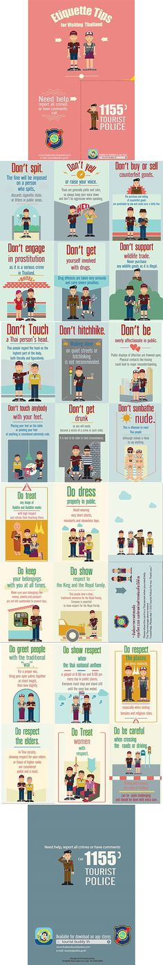 Thailand Do's and Don'ts