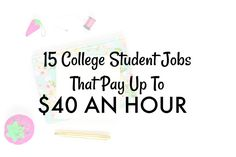 While the last thing a college student may want to do is work on their summer vacation, there are plenty of benefits of getting a summer job. You can develop new skills, potentially gain an interest in a new career field, make new friends, or relieve unnecessary stress that you're carrying over from the school year. Some of the best experiences I've ever had came from working or volunteering at a business during the summer. Below are 15 ways you can make some extra income in the summe...