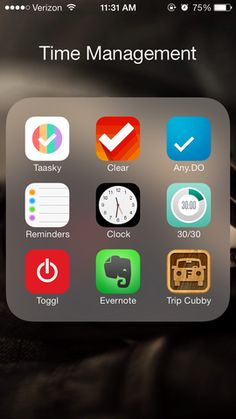 ---> Top 9 iPhone Apps for Time Management                                                                                                                                                                                 More
