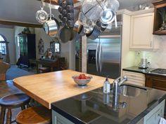 Island and refrigerator. Kitchen design & remodeling by Danilo Nesovic, Designer · Builder (dndb.info)