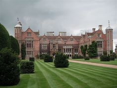 Charlecote Park, on the banks of the River Avon near Wellesbourne, England