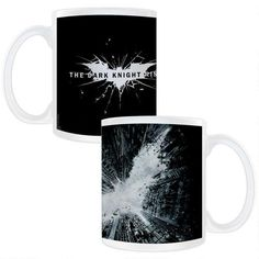 One of my favorite discoveries at WBShop.com: The Dark Knight Rises Smashed Logo Mug
