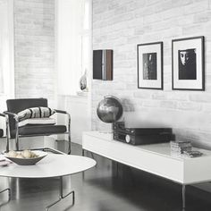 54.30$  Watch now - http://alih04.worldwells.pw/go.php?t=32754660676 - 3D Fashion Home Decoration Moisture-Proof Three-Dimensional Gray Brick Wallpaper