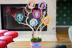 This creative 3-D family tree is a fun project to do with your kids and makes a really personal gift.