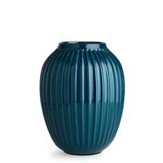 Kähler Hammershøi petroleumsblå vase