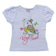 Tee shirt bébé blanc de marque Ativo - 'God save the kids'