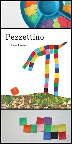 Kids' Art Activity to go along with Leo Lionni's Pezzettino Book
