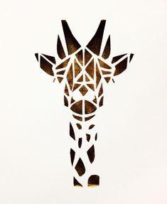 Geometric Giraffe Tattoo Design - 50 Amazing Geometric Tattoo Design, Geometric Giraffe You are in the right place about Geometric Gir - Geometric Giraffe Tattoo, Geometric Tattoo Design, Geometric Art, Small Giraffe Tattoo, Trendy Tattoos, Unique Tattoos, Girl Tattoos, Tattoos For Guys, Elegant Tattoos