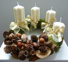 Adventi koszorú - Advent wreath
