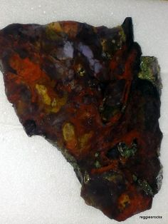 Hey, I found this really awesome Etsy listing at http://www.etsy.com/listing/178080895/purple-cow-agate-jasper-unpolished-slab