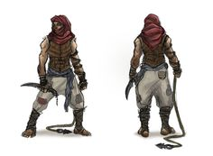 desert assassin by Parkhurst.deviantart.com on @DeviantArt