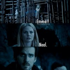 Neal is excited, Emma is frightened, Hook is heart-broken
