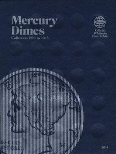 Whitman Publishing Mercury Dimes 1916-1946 Coin Folder