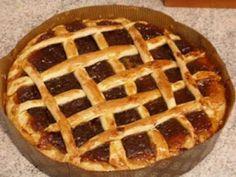 * Οι Συνταγες της Γιαγιας *: ΠΑΣΤΑ ΦΛΩΡΑ ΤΗΣ ΓΙΑΓΙΑΣ ΕΥΚΟΛΗ (NTR) Fruit Jam, I Foods, Apple Pie, Christmas Cookies, Sweet Recipes, Jelly, Deserts, Cooking Recipes, Sweets