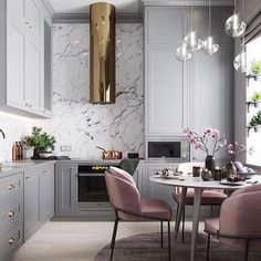 "930 Likes, 12 Comments - Greenhouse Interiors (@greenhouseinteriors) on Instagram: ""Dreamy ... who doesn't love a gold rangehood right ???? Thx @_honeyjackson @planaspb_com for the…"""