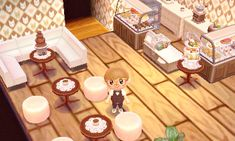 I made a coffee prince themed cafe, complete with a cute worker c;