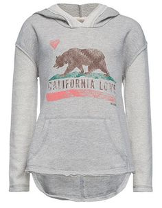 BILLABONG Cali Bear Girls Hoodie // TILLY'S