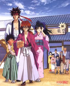 Rurouni Kenshin, one of my favorite anime. It influenced my interest in martial arts training and values.  I've seen around that Kenshin Himura's personality type is INFJ.