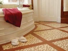 bathroom floor and shower tile ideas