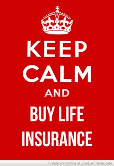 According to LIMRA, 2 in 3 Americans feel that life insurance gives people peace of mind. So keep calm and get life insurance! www.family-protection-center.com