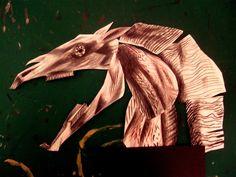 Mari Lwyd | Clive Hicks-Jenkins' Artlog: