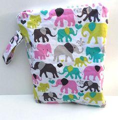 Wet Bag for Cloth Diapers Diaper Bag Girl Laundry Bag Gift
