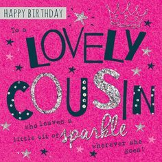 Birthday Cousin