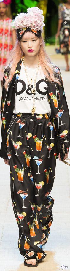 www.2locos.com  Spring 2017 Ready-to-Wear Dolce & Gabbana