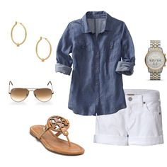 """Perfect Spring Outfit!"" by mwedens on Polyvore"