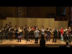 The Liberty Bell - Sarah Willis´s Horn Masterclass live from London.  So many horns...I can't wait to attend the Summer Horn Camp in Temecula with Warren Gref in June.  Nicollette is going to attend too.