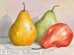 Fruit Study 3 by ElinorSethman for $20.00  http://www.zibbet.com/ElinorSethman/artwork?artworkId=175601