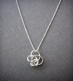 Petite Twist Necklace - Silver / by Simple Twist Jewelry