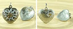 Color: Matte / Aged / Antique Silver / Gold Material: Lead Free Metal Size: 24mm Hole size (mm): (approximately), ring – 5mm (approximately) Shape: Flower / Heart / Valentine / Wedding / Pendant Items can vary in size and color due to technological process. All Czech Findings are manufactured in [...]