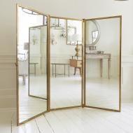 BRASS TRIPTYCH in Mirrors