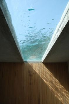 Water feature/skylight