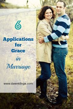 6 applications for grace in marriage-God shows his love to us through his grace, and grace is an essential ingredient in a strong marriage. If we want a marriage that filled with grace, there are some practical applications we can focus on. Military Marriage, Biblical Marriage, Strong Marriage, Marriage Relationship, Marriage And Family, Marriage Advice, Relationships, Christian Wife, Christian Marriage