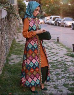 Hülya Aslan etnik tunik modelleri