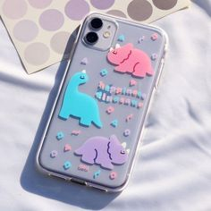 Kawaii Phone Case, Girly Phone Cases, Pretty Iphone Cases, Diy Phone Case, Iphone Phone Cases, Samsung Cases, Iphone Case Covers, Homemade Phone Cases, Telefon Apple