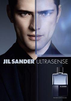 Sean OPry Fronts Jil Sanders Ultrasense Fragrance Campaign