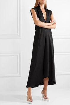Womens Plain Bodycon Signore SERRATURA taglio Girocollo Collo V Manica Corta Midi Dress