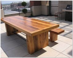 Reclaimed-Wood-Kitchen-Table.jpg 661×528 pixels