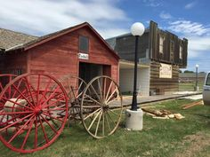4. Daniels County Museum & Pioneer Town, Scobey  Want to walk through a pioneer town? 35 historic buildings have been restored to depict a town from the early 1900s near Scobey. Summer is the best time to go since they host so many events, like Pioneer Days in June, but they're open all year (with limited hours).