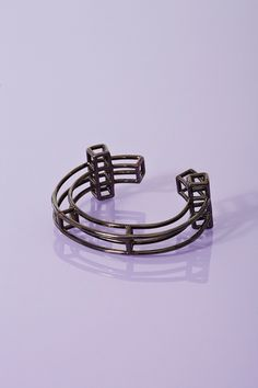 Caged Cross Bracelet.  $135.00  I would wear you everyday.