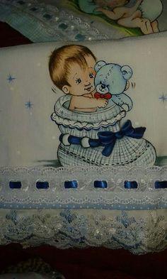 Pintura em tecido | para bebês | para meninos