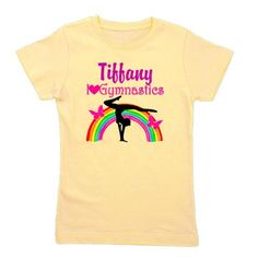 This Sparkling Gymnast will dazzle and shine with this colorful butterfly and rainbow personalized Gymnastics design. http://www.cafepress.com/sportsstar/10731314  #Gymnastics #Gymnast #IloveGymnastics #Gymnastgifts #WomensGymnastics  #Gymnasticsgifts #Gymnastgift  #PersonalizedGymnast #CustomGymnast