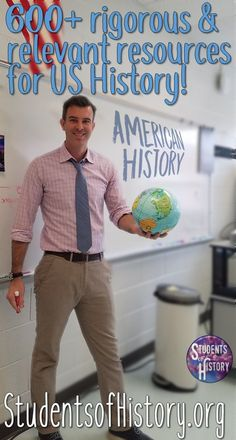 US History Activities for High School and Middle School! Over 600 engaging lessons and resources for ALL of American History! #ad