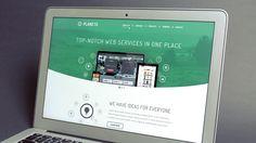 Planeto - Free Website Template! http://pixel-fabric.com/planeto-free-template-25