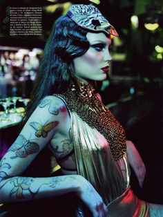 Vogue Beauty Italia August 2010- SO beautiful #chebella