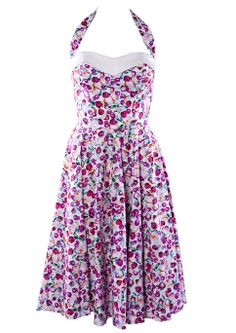 50s Swing Dress - Tutti Frutti http://www.20thcenturyfoxy.com/en/just-added/50s-swing-dress-tutti-frutti