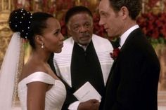 Scandal's Olivia Pope Wears $4,500 Anne Barge Wedding Gown in 100th Episode - the Truth Behind the Dress